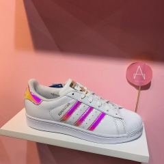 [AC7705] K ADIDAS SUPERSTAR IRIDESCENT HOLOGRAM