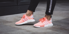 [BY3034] W ADIDAS NMD R1 SUN GLOW ( ORANGE PINK )