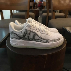 [BQ7541-100] M NIKE AIR FORCE 1 SKELETON QS
