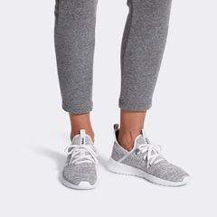 [DB0695] W ADIDAS CLOUDFOAM PURE GREY WHITE