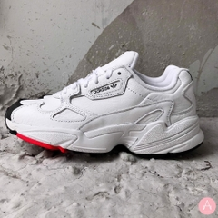 [EE5308] W ADIDAS FALCON WHITE CORE BLACK