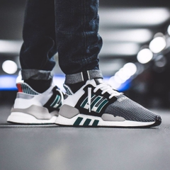 [AQ1037] M ADIDAS EQT SUPPORT ADV 91/18 GREY GREEN BLACK