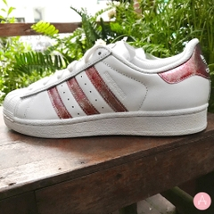 [DB2960] K ADIDAS SUPERSTAR CLEORA PINK WHITE