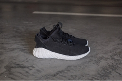 [BY3563] M ADIDAS TUBULAR DOOM SOCK BLACK WHITE