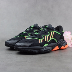 [EE5696] M ADIDAS OZWEEGO BLACK ORANGE GREEN