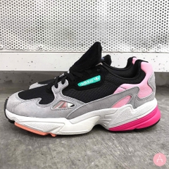 [BB9173] W ADIDAS FALCON CORE BLACK LIGHT GRANITE