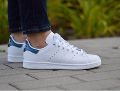 [B37185] K ADIDAS STAN SMITH LIGHT BLUE