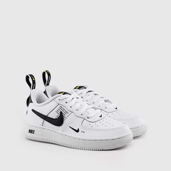 [AV4272-100] K NIKE AIR FORCE 1 UTILITY WHITE