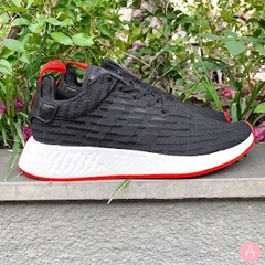 [BA7252] M ADIDAS NMD R2 BLACK RED