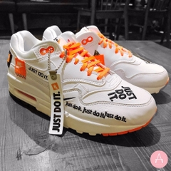 [AO1021-100] M NIKE AIR MAX 1 SE JDI WHITE ORANGE
