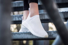 [BY3018] W ADIDAS NMD CS2 '' ALL WHITE ''