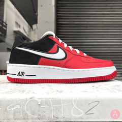[AV0743-600] K NIKE AIR FORCE 1 LV8 MYSTIC RED WHITE BLACK