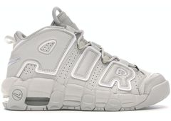 [415082-006] K NIKE AIR MORE UPTEMPO LIGHT BONE WHITE