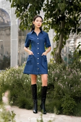 Yo denim dress