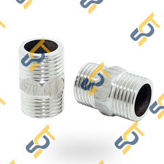 Kép thu - hai ren ngoài inox bóng (Inox pipe fitting reducing-hexagon nipple)
