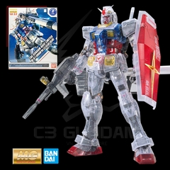 MG 1/100 RX-78-2 GUNDAM VER 3.0 [CLEAR COLOR] THE GUNDAM BASE LIMITED