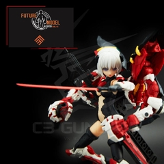 FUTURE MODEL - WEAPON GIRL 01 - RG POWER ARM & FLIGHT UNIT GIRL SET
