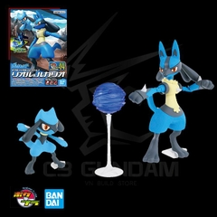 POKEMON PLASTIC MODEL COLLECTION 44 RIOLU & LUCARIO POKEMON PLAMO