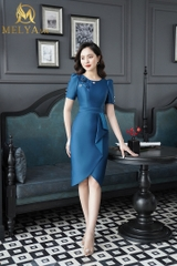 Blue Pearl Dress - V384