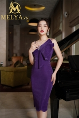Purple Lux Dress - D98