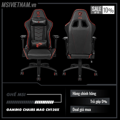 Ghế MSI GAMING CHAIRS MAG CH120x