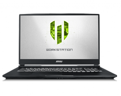 Laptop Workstation MSI WP65 9TH | i7-9750H | DDR IV 16GB*2 (2666MHz) | SSD 256GB NVMe PCIe +1TB (SATA) 7200rpm | Quadro P620, 4GB GDDR5 | 15.6