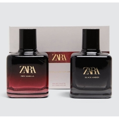 Set Nước hoa ZARA RED VANILLA - BLACK AMBER 100ml/ chai