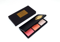 Phấn má 3 màu Mono pop cheek palette - The Face Shop