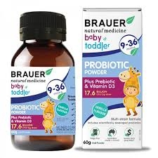 Brauer Baby And Toddler Probiotic 60G