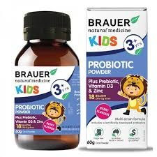Brauer Kids Probiotic Powder 60G