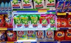 ARIEL WASHING SOLUTION BRAND
