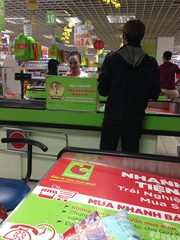 BigC supermarket chain POS system