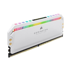 Ram Desktop Corsair Dominator Platinum White RGB 16GB  DDR4 3200MHz