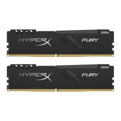 Ram PC Kingston HyperX Fury Black 16GB 2666MHz DDR4