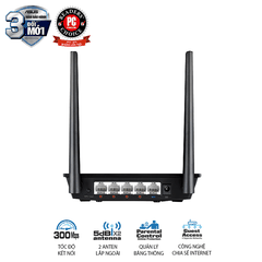 Router Wifi/ Repeater ASUS RT-N12+ Chuẩn N300
