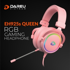 Tai Nghe Dare-U EH925S Queen Pink 7.1 Led RGB