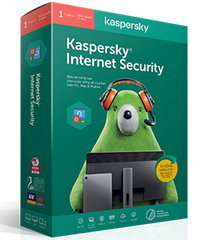 Kaspersky Internet Security for PC, MAC & MOBILE 1PC