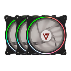 Bộ Kit 3 Fan V206B LED RGB