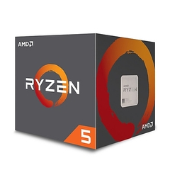 CPU AMD Ryzen 5 2600 có tản Wraith Stealth (6-core/12-thread, 3.4GHz-3.9GHz, 19MB, 65W TDP)