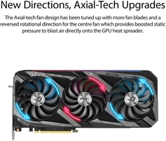 VGA Asus ROG STRIX RTX3090 O24G GAMING (24GB GDDR6X, 384-bit, HDMI +DP, 3x8-pin)