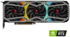VGA PNY GeForce RTX 3090 24GB XLR8 Gaming REVEL EPIC-X RGB Triple Fan Edition (24GB GDDR6X, 384-bit, HDMI +DP, 2x8-pin)