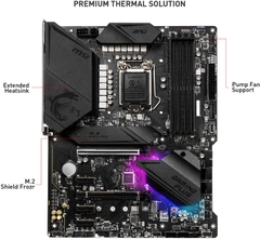 Mainboard MSI MPG Z490 GAMING PLUS (Intel Z490, Socket 1200, ATX, 4 khe RAM DDR4)