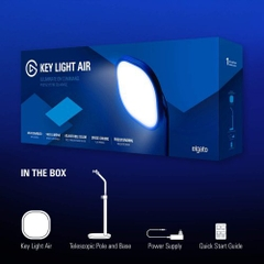 Elgato Key Light Air, professional LED panel with 1400 lumens (Mac/Windows/iPhone/Android)