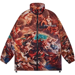 ANDREAS ZIP OVER-PRINTED JACKET