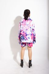 STAIN OVER-PRINTED JACKET