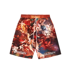 ANDREAS OVER PRINTED SHORT