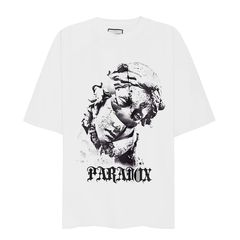 CRACKING TEE (White)
