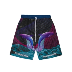 DAMIANOS OVER-PRINTED SHORT