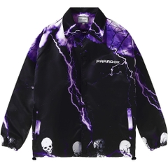 ELECTROCUTION OVER-PRINTED JACKET