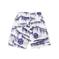 ICE GROOVE OVER-PRINTED SHORT